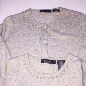 Tank Top & Cardigan Sweater Set